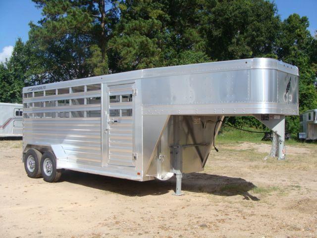 2018 Featherlite 8117 - 16 Livestock 16' Stock/ Cattle CONROE, TX 35