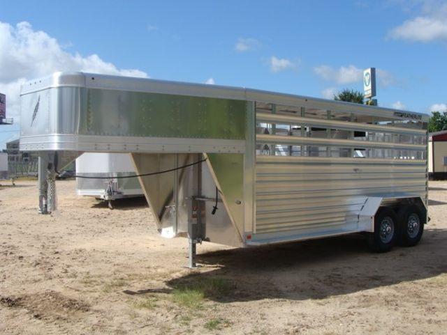 2018 Featherlite 8117 - 16 Livestock 16' Stock/ Cattle CONROE, TX 10