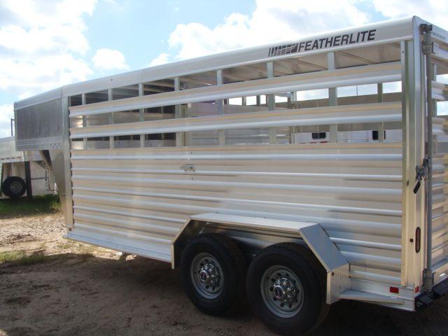 2018 Featherlite 8117 - 16 Livestock 16' Stock/ Cattle CONROE, TX 13