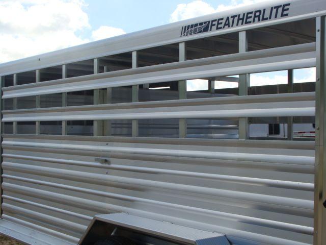 2018 Featherlite 8117 - 16 Livestock 16' Stock/ Cattle CONROE, TX 15