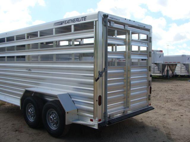 2018 Featherlite 8117 - 16 Livestock 16' Stock/ Cattle CONROE, TX 16