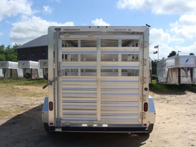2018 Featherlite 8117 - 16 Livestock 16' Stock/ Cattle CONROE, TX 17
