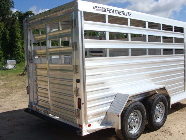 2018 Featherlite 8117 - 16 Livestock 16' Stock/ Cattle CONROE, TX 27