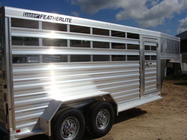 2018 Featherlite 8117 - 16 Livestock 16' Stock/ Cattle CONROE, TX 29