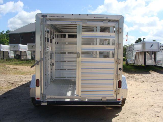 2018 Featherlite 8117 - 16 Livestock 16' Stock/ Cattle CONROE, TX 19