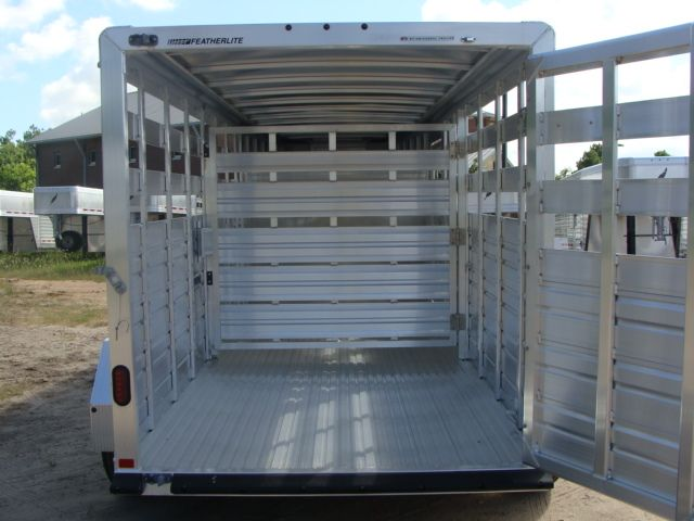 2018 Featherlite 8117 - 16 Livestock 16' Stock/ Cattle CONROE, TX 20