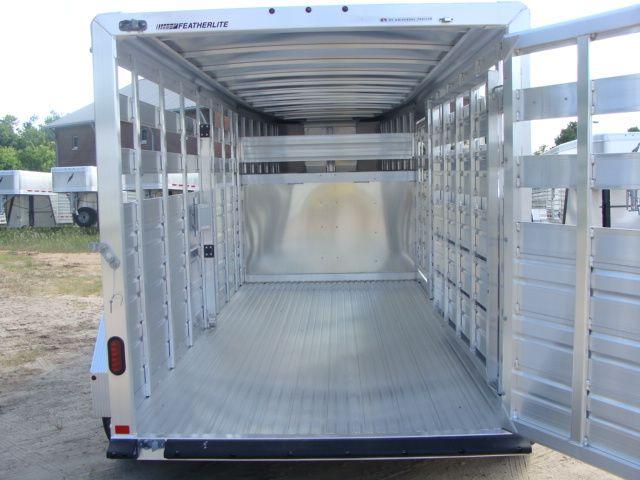 2018 Featherlite 8117 - 16 Livestock 16' Stock/ Cattle CONROE, TX 24