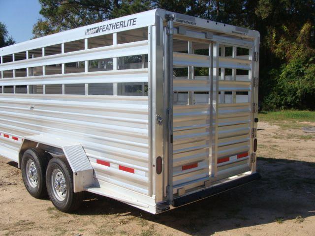2018 Featherlite 8117 - 20 20' Livestock/ Cattle CONROE, TX 10