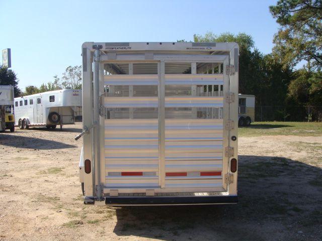 2018 Featherlite 8117 - 20 20' Livestock/ Cattle CONROE, TX 11