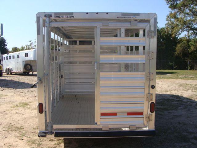 2018 Featherlite 8117 - 20 20' Livestock/ Cattle CONROE, TX 12