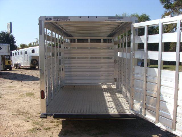 2018 Featherlite 8117 - 20 20' Livestock/ Cattle CONROE, TX 13