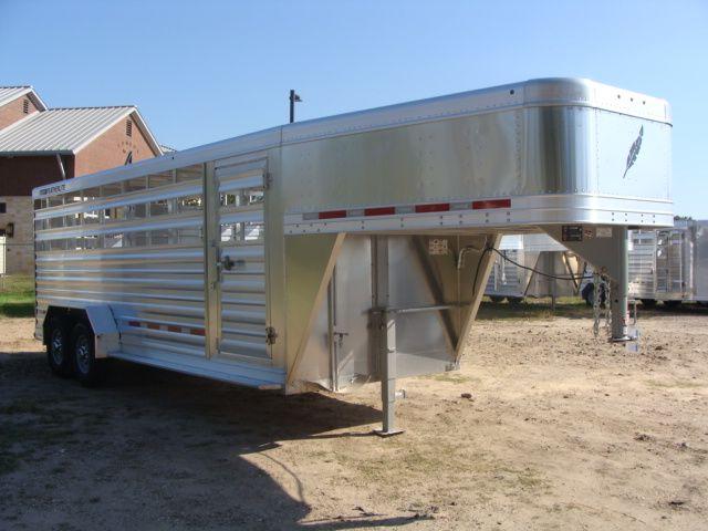 2018 Featherlite 8117 - 20 20' Livestock/ Cattle CONROE, TX 27