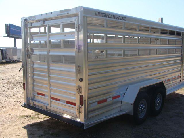 2018 Featherlite 8117 - 20 20' Livestock/ Cattle CONROE, TX 20