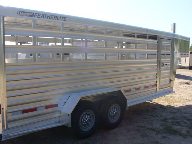 2018 Featherlite 8117 - 20 20' Livestock/ Cattle CONROE, TX 21