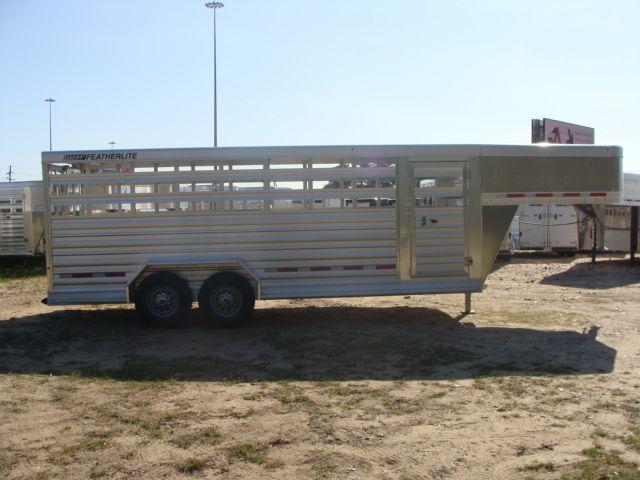2018 Featherlite 8117 - 20 20' Livestock/ Cattle CONROE, TX 23