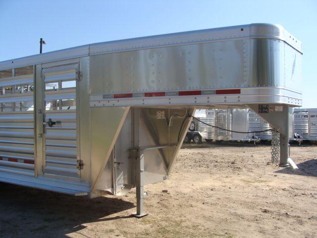2018 Featherlite 8117 - 20 20' Livestock/ Cattle CONROE, TX 2