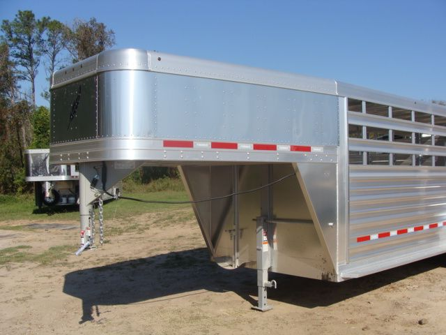 2018 Featherlite 8117 - 20 20' Livestock/ Cattle CONROE, TX 4
