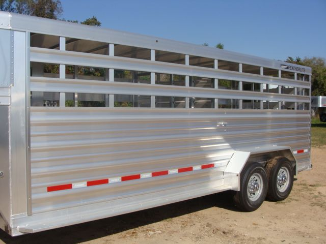 2018 Featherlite 8117 - 20 20' Livestock/ Cattle CONROE, TX 5