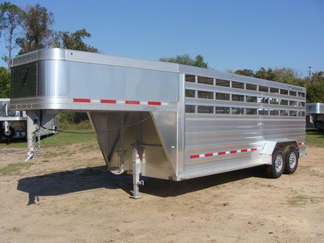 2018 Featherlite 8117 - 20 20' Livestock/ Cattle CONROE, TX 6