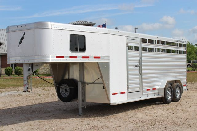 2018 Featherlite 8413 - STOCK/ COMBO Combo with Horse Slant Divider 4H CONROE, TX 7