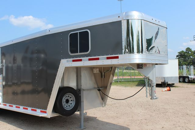 2018 Featherlite 8542 - 3H 3 HORSE GN LEGEND PACKAGE - DROP DOORS ON HIP CONROE, TX 2