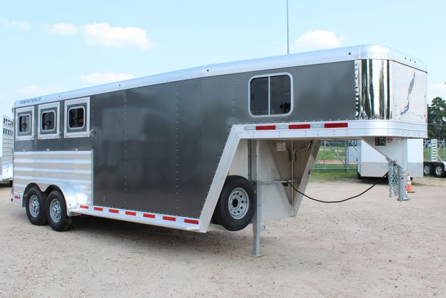 2018 Featherlite 8542 - 3H 3 HORSE GN LEGEND PACKAGE - DROP DOORS ON HIP CONROE, TX 26