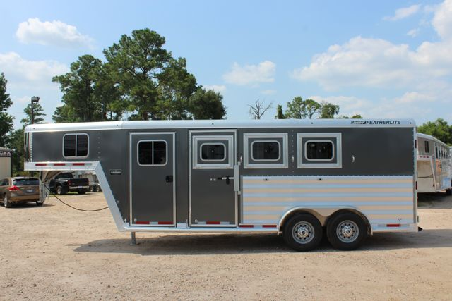 2018 Featherlite 8542 - 3H 3 HORSE GN LEGEND PACKAGE - DROP DOORS ON HIP CONROE, TX 7