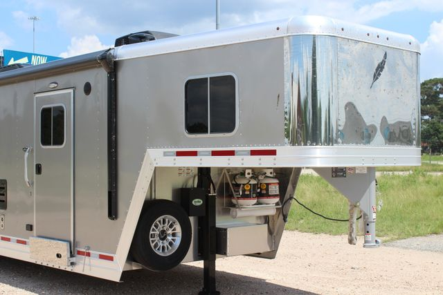 2018 Featherlite 9821 Liberty LQ 4 Horse Legend Package CONROE, TX 2