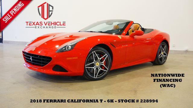 2018 Ferrari California T Convertible MSRP 233K,NAV,HTD/COOL LTH,20'S,6K