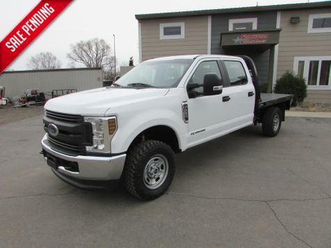 2018 Ford 2018 F-250 4x4 Crew-Cab Flatbed Truck  in St Cloud, MN