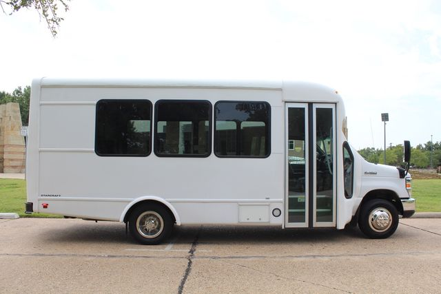 2018 Ford E350 15 Passenger Starcraft Shuttle Bus W/ Luggage, Storage Area Irving, Texas 11