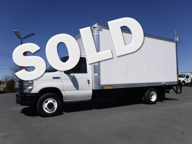 2018 Ford E350 16' Box Truck with Lift Gate in Ephrata PA