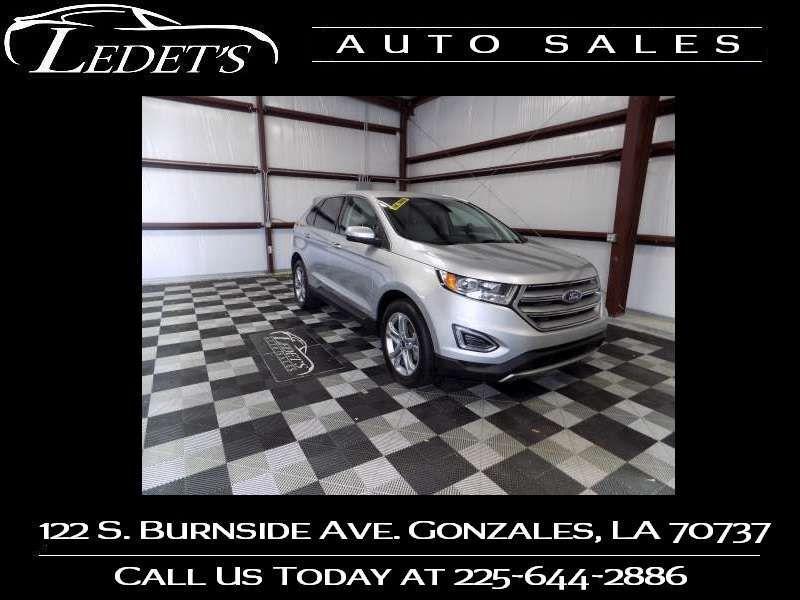 2018 Ford Edge Titanium - Ledet's Auto Sales Gonzales_state_zip in Gonzales Louisiana