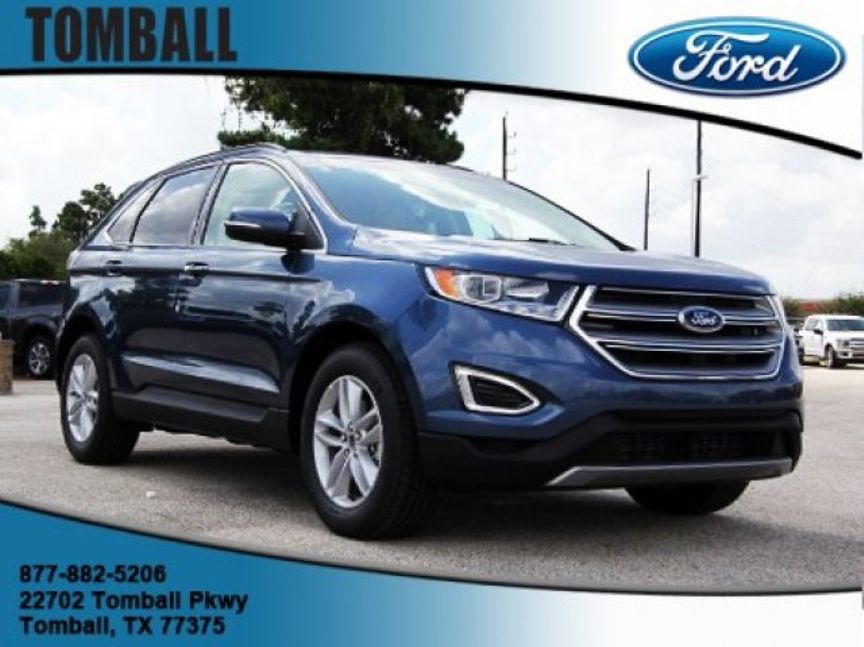 Ford Edge Sel In Tomball Tx