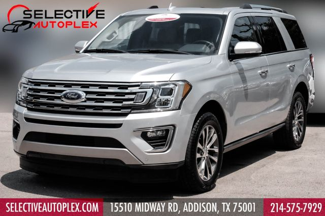 2018 Ford Expedition Limited, NAV, CAPTAIN CHAIRS, COOLED FRONT SEATS