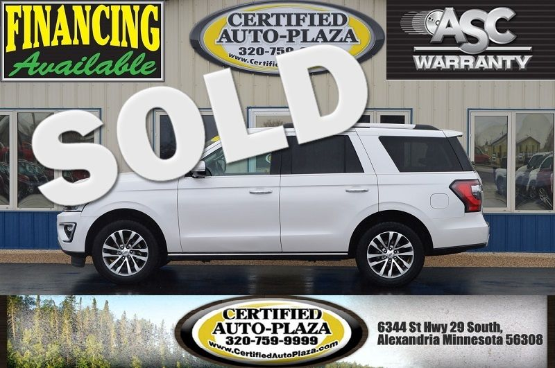 2018 Ford Expedition Limited 4x4 in Alexandria Minnesota