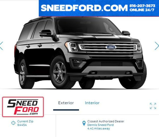 2018 Ford Expedition Max XLT 4X4 FX4 in Gower Missouri, 64454