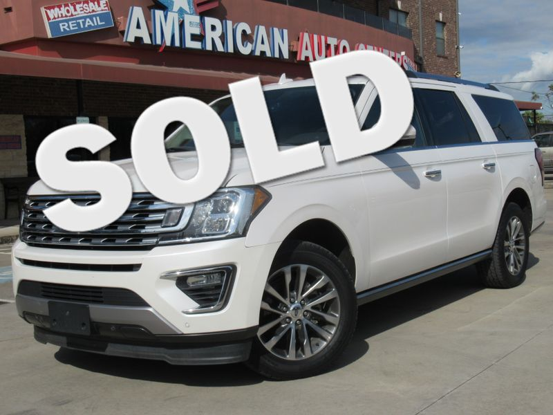 2018 Ford Expedition Max Limited | Houston, TX | American Auto Centers in Houston TX
