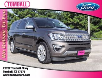 2018 Ford Expedition Max Platinum in Tomball, TX 77375