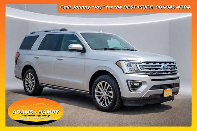 """2018 Ford Expedition Limited with 20"""" Wheels and Voice Activated NAV"""