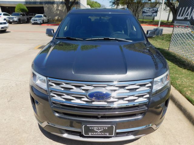 2018 Ford Explorer Limited NAV, Polished Wheels, Only 27k in Dallas, Texas 75220
