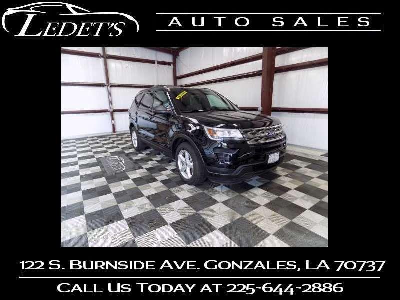 2018 Ford Explorer Base - Ledet's Auto Sales Gonzales_state_zip in Gonzales Louisiana