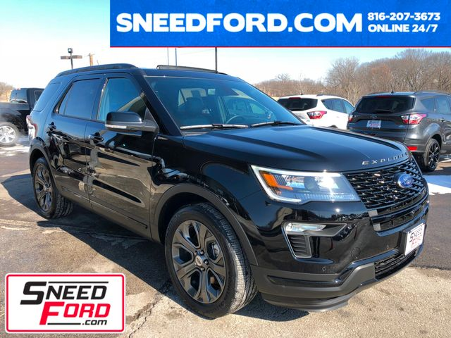 2018 Ford Explorer Sport 4X4 in Gower Missouri, 64454