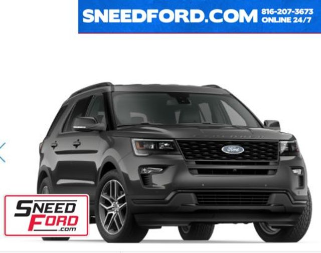 2018 Ford Explorer Sport 4X4