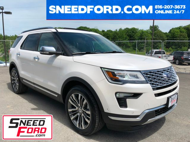 2018 Ford Explorer Platinum 4X4