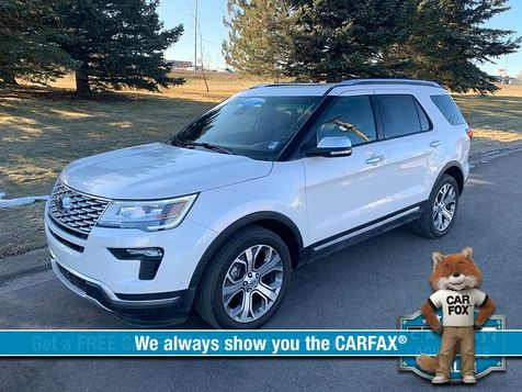 2018 Ford Explorer 4d SUV 4WD Platinum in Great Falls, MT