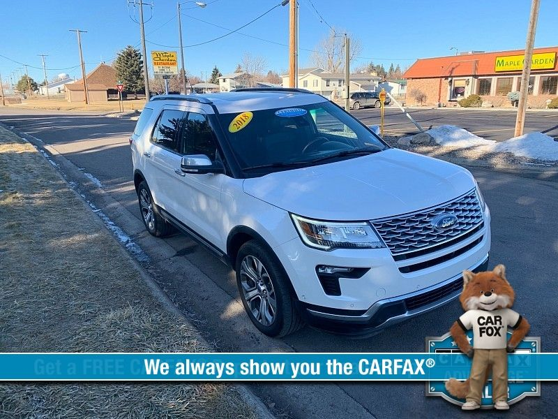 2018 Ford Explorer 4d SUV 4WD Platinum  city MT  Bleskin Motor Company   in Great Falls, MT