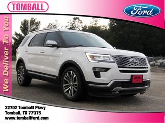 2018 Ford Explorer Platinum in Tomball, TX 77375