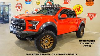 2018 Ford F-150 Raptor 4X4 LIFTED,BUMPERS,LED'S,SUBWOOFERS,20'S,7K in Carrollton TX, 75006