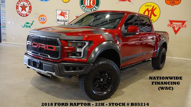 2018 Ford F-150 Raptor 4X4 MSRP 70K,PANO ROOF,360 CAM,BLK WHLS,24K in Carrollton, TX 75006